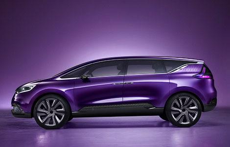 Renault покажет во Франкфурте предвестника модели Espace нового поколения. Фото 1