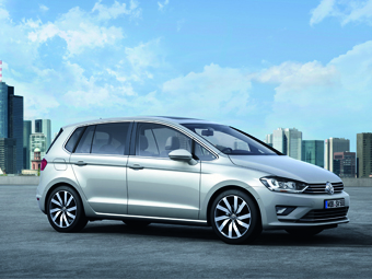Volkswagen показал предвестника нового Golf Plus