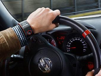 Nissan разработал для водителей биометрические часы