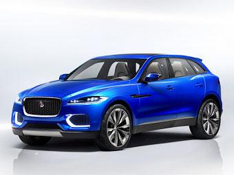 Дизайн кроссовера Jaguar перестал быть секретом
