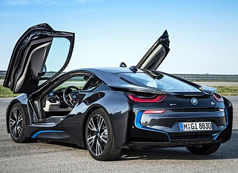 Во Франкфурте показали 362-сильный гибридный спорткар BMW