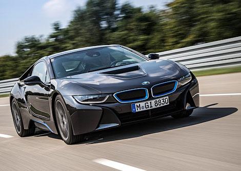 Во Франкфурте показали 362-сильный гибридный спорткар BMW. Фото 1