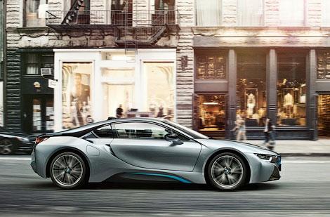 Во Франкфурте показали 362-сильный гибридный спорткар BMW. Фото 2
