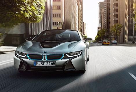 Во Франкфурте показали 362-сильный гибридный спорткар BMW. Фото 3