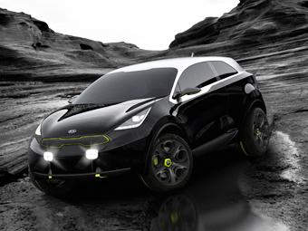 Концептуальный конкурент Nissan Juke от Kia оказался гибридом