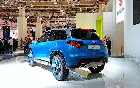 Во Франкфурте дебютировал компактный кроссовер Suzuki iV-4