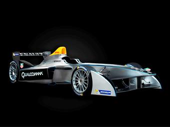 Представлен первый автомобиль для Формулы-Е