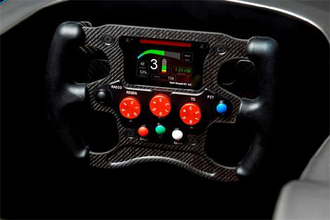 Шасси Spark-Renault SRT_01E разработано инженерами Dallara. Фото 1