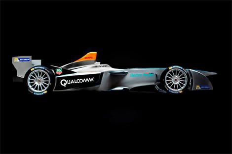 Шасси Spark-Renault SRT_01E разработано инженерами Dallara. Фото 2