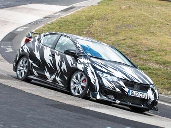 """""""Хонда"""" раскрыла первые подробности о новом Civic Type-R"""