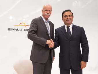 Daimler и Renault-Nissan втрое увеличат число совместных проектов