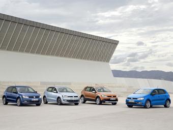 Volkswagen добавил обновленному Polo четыре модификации