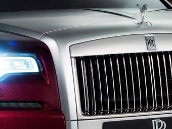 Rolls-Royce подготовит к Женеве рестайлинговый Ghost