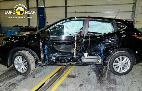 Вседорожник Qashqai прошел краш-тесты Euro NCAP. Фото 1