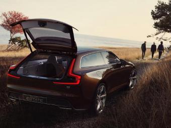 В Сети рассекретили новый концепт-кар Volvo