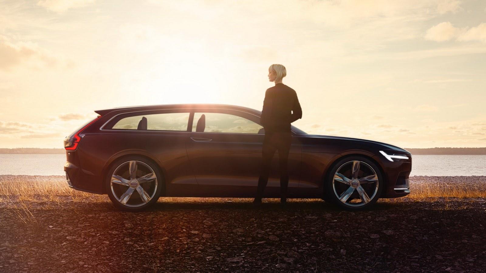 """""""Вольво"""" привезет в Женеву концептуальный универсал с кузовом """"Shooting Brake"""". Фото 1"""