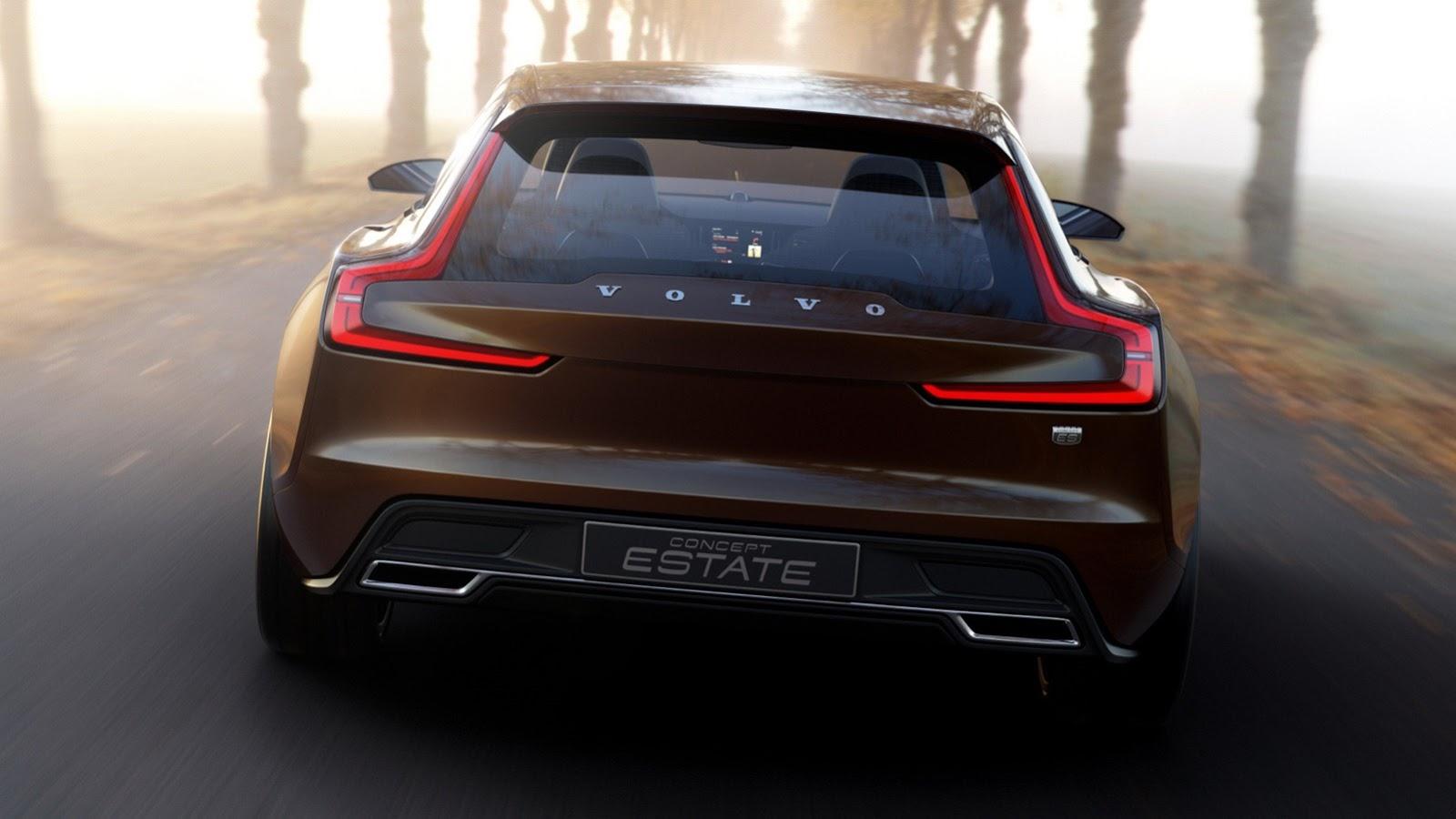 """""""Вольво"""" привезет в Женеву концептуальный универсал с кузовом """"Shooting Brake"""". Фото 2"""