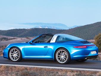 Porsche 911 Targa обзаведется турбо-версией