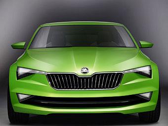 Skoda запустит в серию «пятидверное купе» через два года