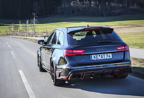"""""""Заряженный"""" универсал Audi сделали на 170 сил мощнее"""