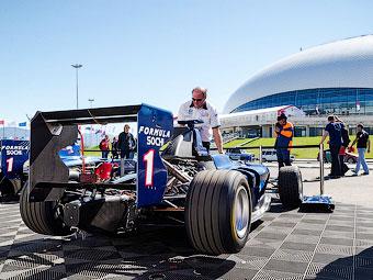 Начало продаж билетов на Гран-при России отложили на май