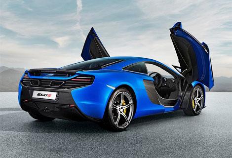 Названы подробные характеристики модели McLaren 650S