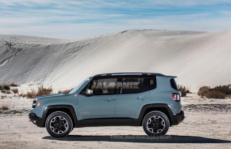 Новая модель Jeep получила название Renegade