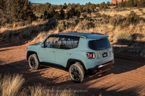Новая модель Jeep получила название Renegade. Фото 1