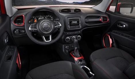 Новая модель Jeep получила название Renegade. Фото 2