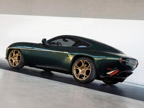 В Женеве дебютирует специальная версия купе Disco Volante. Фото 1