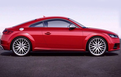 «Заряженный» вариант TT обзаведется 300-сильным мотором. Фото 1