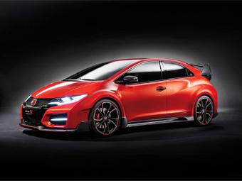 Предвестник Honda Civic Type R нового поколения дебютировал в Женеве