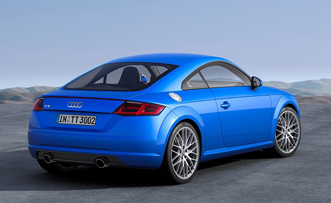 Купе Audi TT стало легче на 50 килограммов