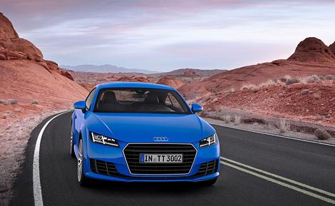 Купе Audi TT стало легче на 50 килограммов. Фото 1