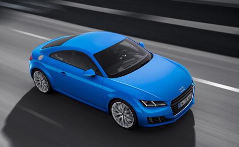 Купе Audi TT стало легче на 50 килограммов. Фото 3