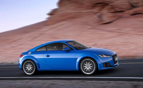 Купе Audi TT стало легче на 50 килограммов. Фото 4