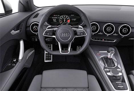 Купе Audi TT стало легче на 50 килограммов. Фото 8