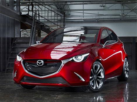 В Женеве дебютировал прототип Mazda Hazumi
