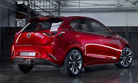 В Женеве дебютировал прототип Mazda Hazumi. Фото 1