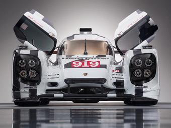Porsche представила раскраску прототипа для «24часов Ле-Мана»