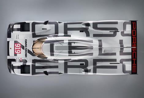 Немецкая марка опубликовала изображения 919 Hybrid. Фото 1