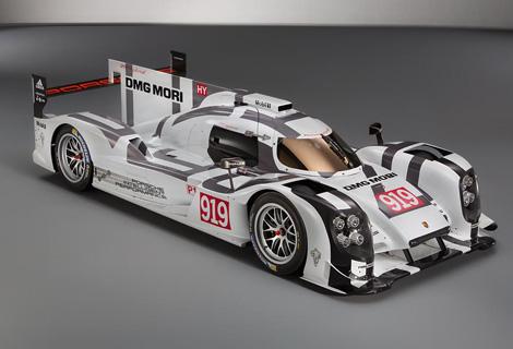 Немецкая марка опубликовала изображения 919 Hybrid. Фото 2