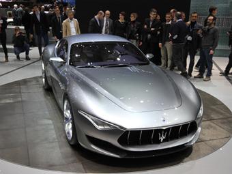 «Мазерати» показала прообраз будущих моделей