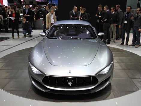 Итальянцы отметили свое столетие концептуальным купе Alfieri