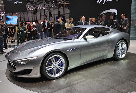 Итальянцы отметили свое столетие концептуальным купе Alfieri. Фото 1