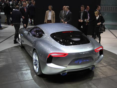 Итальянцы отметили свое столетие концептуальным купе Alfieri. Фото 2