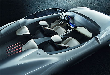 Итальянцы отметили свое столетие концептуальным купе Alfieri. Фото 4