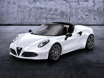 Спорткар Alfa Romeo 4C стал родстером