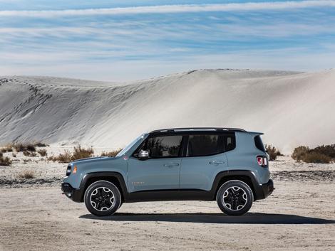 Компания Jeep рассекретила компактный вседорожник Renegade
