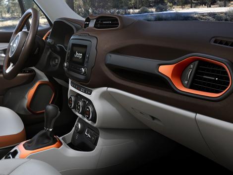 Компания Jeep рассекретила компактный вседорожник Renegade. Фото 5